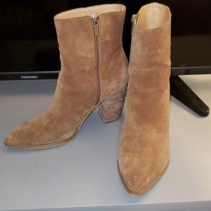 Marc Fischer Suede Heeled Boots